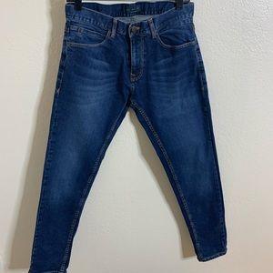 Zara Man Straight Leg Denim Jeans